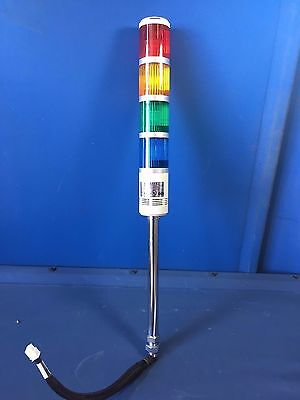 Patlite Stpb-T Signal Stack Light Tower 25'' Tall