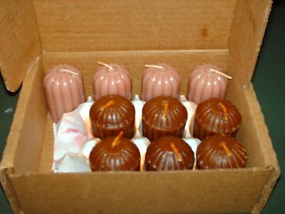 NEW MIXED LOT -BROWN & PINK COLOR Home Interiors Box of 10 Votive Candles • $5.00