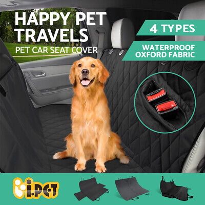 iPET Pet Car Back Seat Cover Cat Dog Hammock Protector Mat Blanket Waterproof