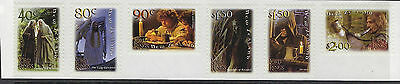 NEW ZEALAND :2001 Lord of the Rings-S/A with no  surplus paper SG2464-9 MNH