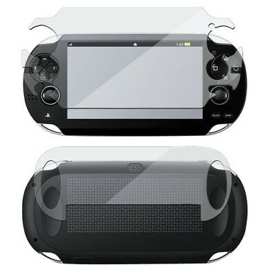 Full Body Front & Back LCD Screen Protector Set for Sony PS Vita PSV PCH-1000