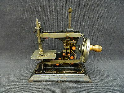 Turn of Century Eagle Brand Made in Germany Miniature Sewing Machine Working