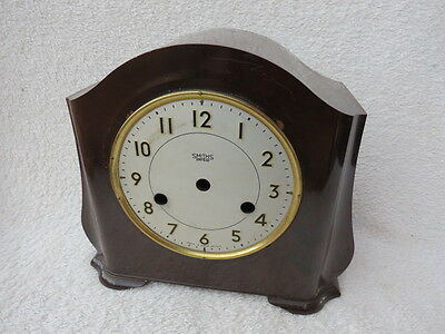 Vintage Smiths Enfield Bakelite Clock Case And Dial