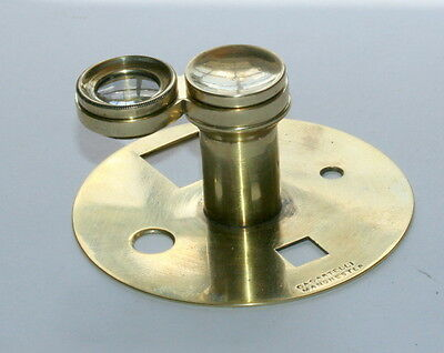 Quality Casartelli Microscope Magnifying Glass In Exceptionally Fine Cond.