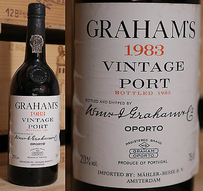 1983er Graham  Vintage Port - Top Jahrgang *****