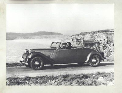 1938 Citroen Traction Avant 11W Cabriolet ORIGINAL Factory Photograph wy3108