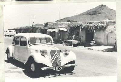1950 ? Citroen Traction Avant in Middle East ORIGINAL Factory Photograph wy3131