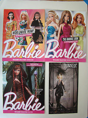 Barbie Collection Doll Catalogs Summer Fall Holiday 2014 BFM Tonner Deja Vu