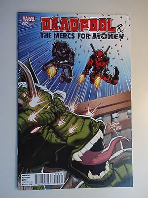 Deadpool & the Mercs for Money #2  Hi Grade NM- 1st Jagged Arrow Ron Lim Variant