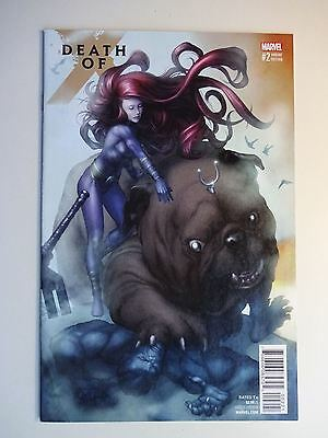 Death of X #10   High Grade NM   X-Men   Mike Choi Connecting Variant Cover B