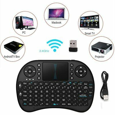 i8 2.4G Wireless Mini Keyboard With Touchpad Mouse For Smart TV Android PC ARZ