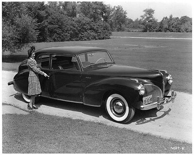 1941 Lincoln Continental Factory Photo ca8534