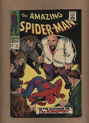 Amazing Spider-Man 51 (Sharp!) 2nd app. Kingpin; Joe Robertson cameo (c#14890)