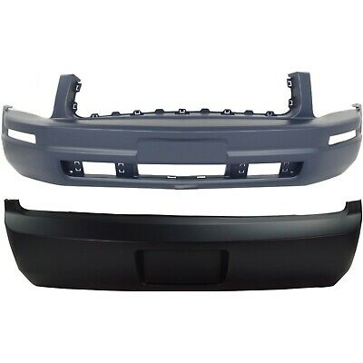 Bumper Cover For 2005-2009 Ford Mustang Front Plastic Primed With Pony Package