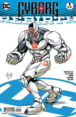 CYBORG REBIRTH #1, VARIANT, New, First print, DC REBIRTH (2016)