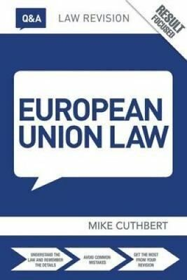 Q&A European Union Law by Michael Cuthbert 9781138783911 (Paperback, 2014)