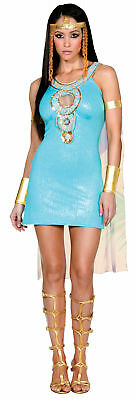 Adult Womens Egyptian Queen Of Da Nile Ancient Princess Costume Party Halloween