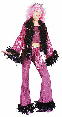 teen disco diva dance retro girl costume 70s bell bottoms theme party halloween
