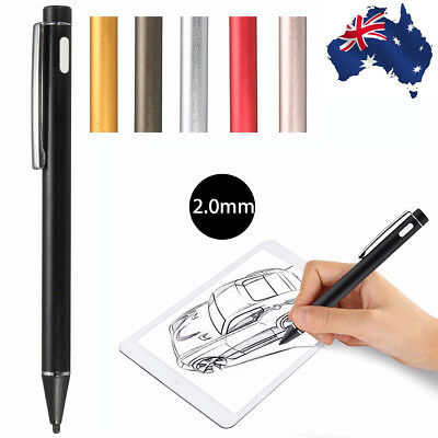 Universal 2.0mm Active Stylus Capacitive Touch Screen Pen for iPad 2 iPhone