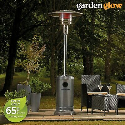 Garden Glow Heat Controllable Powerful 13kW Focal Point Gas Powered Patio Heater