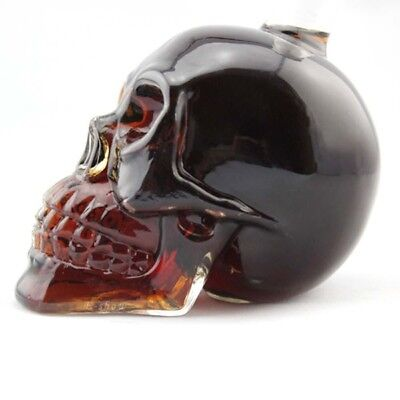 Crystal 330ML Skull Head Vodka Beer Whiskey Shot Glass Bottle Cup Bar Home decor