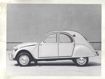 1963 Citroen 2CV ORIGINAL Factory Photograph wy3170