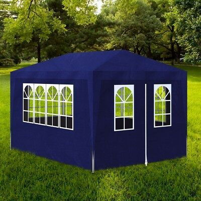 s festzelt 4x3 m gartenpavillon partyzelt bierzelt zelt. Black Bedroom Furniture Sets. Home Design Ideas