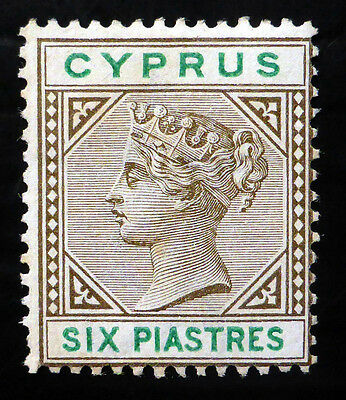 CYPRUS 1896 - 6p SG45 Mounted Mint NB2848