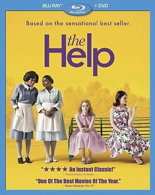 THE HELP New Sealed Blu-ray + DVD