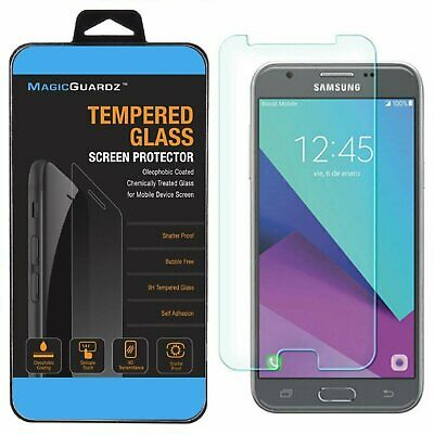 Premium Tempered Glass Screen Protector for Samsung Galaxy J3 Eclipse Verizon