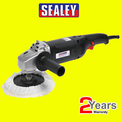 SEALEY Electric MS900PS 6 Speed 170mm 1300w Sander Polisher & Polishing Bonnet