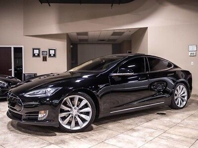 2013 Tesla Model S  2013 Tesla Model S 85kWh Black Tech Package Panoramic Roof $94K+MSRP
