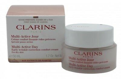Clarins Multi Active Day Early Wrinkle Correction Cream - Women's For Her. New