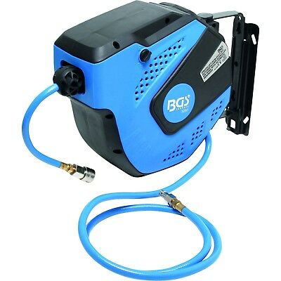 BGS Compressed Air Hose with Automatic Reel, 10 M 3297