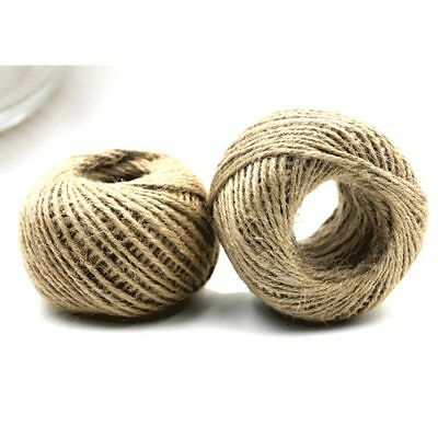 400\' FEET NATURAL Jute Twine String Rope Roll Ball Refill Hobby ...