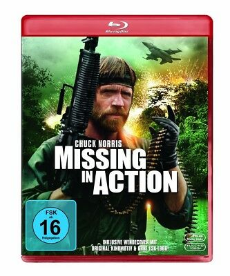 Missing in Action Blu-ray NEU OVP Chuck Norris