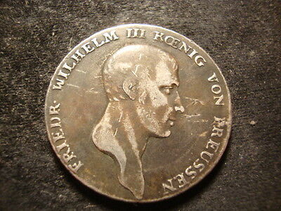 1809-A Prussia Thaler Taler Germany Decent Coin
