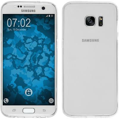 Silikon Hülle für Samsung Galaxy S7 Edge clear 360° Fullbody Cover