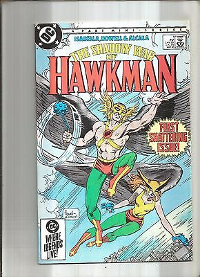 The Shadow War Of Hawkman #1  Hawkwoman  Dc  1985 Nice!!!