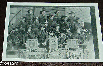 WW2  7th DIVISION ROYAL AUSTRALIAN ENGINEERS R.A.E. PIPE BAND 1940
