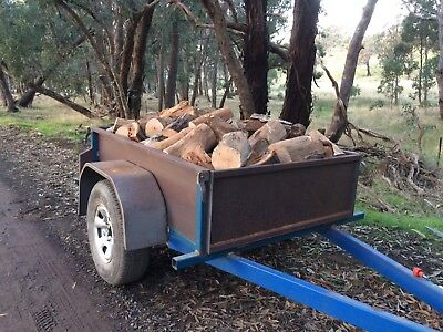 Firewood 1m³ - From Central Victoria Mixture of Hardwoods - Delivered + More