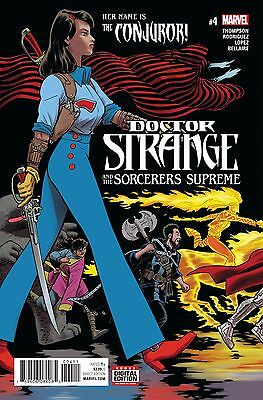DOCTOR STRANGE SORCERERS SUPREME #4, New, First Print, Marvel Comics (2017)