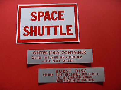 Aufkleber Nasa Kennedy Spacecenter Mission Project Orbit Shuttle Cape Canaveral