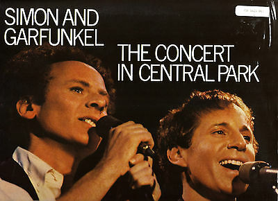 Simon & Garfunkul - Concert In Central Park 1992 Usa Double Sided Laserdisc