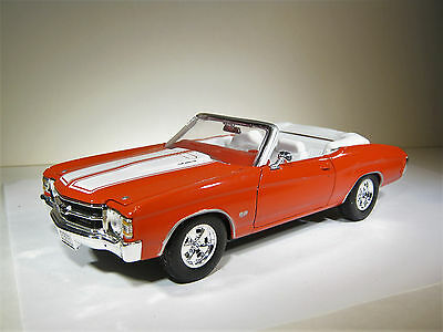 WELLY CHEVROLET CHEVELLE SS454 1/24 ε .
