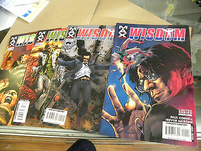 Marvel 2006 MAX Adults ONLY X-Men 4 of 6 issues WISDOM 1 2 3 6 qq