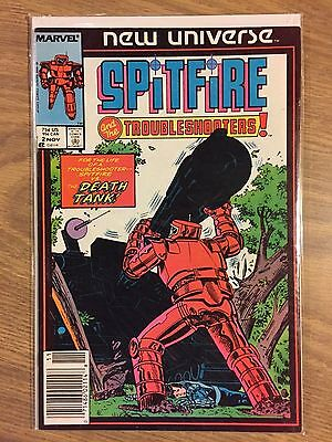 Spitfire and The Troubleshooters #2 VF Range (1986) Marvel Comics • $0.99