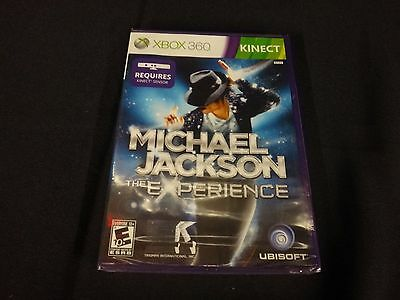 Michael Jackson: The Experience (Microsoft Xbox 360, 2011) Brand New Sealed