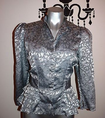 Vintage Cue Avant Garde Evening Jacket Size 6 - 8