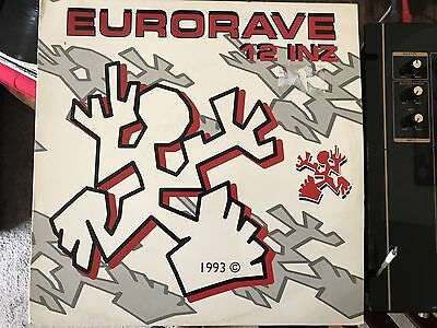 "Eurorave 12"" Vinyl Hardcore Techno Gabba Gabber Holland Dutch"